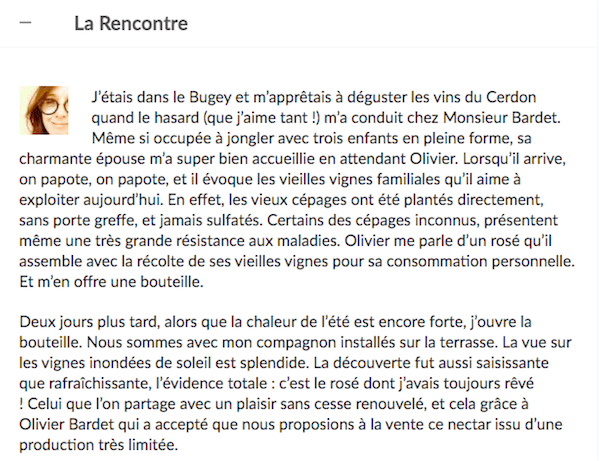 """La Rencontre"" Exemple"